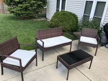 Patio set in Lockport, Illinois