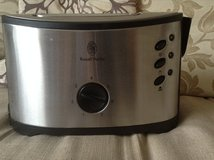 2 slice toaster Russel Hobbs in Lakenheath, UK