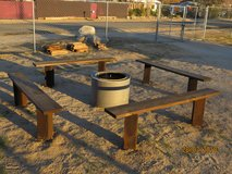 Outdoor Large Fire Pit in Yucca Valley, California
