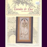 Lavender & Lace WHITE LACE Wedding Cross Stitch Chart Sealed in Aurora, Illinois