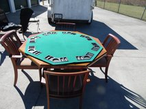 Game table w/4 captain  chairs(REDUCED 4 EASTER & military discount $99 in Camp Lejeune, North Carolina