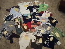 Baby boys size newborn-3/6 month lot in Bolingbrook, Illinois