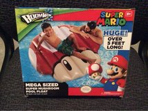 Super Mario inflatable pool float in Morris, Illinois