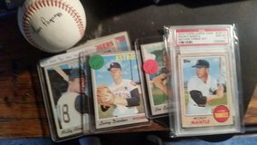Mickey Mantle,baseball and basketball cards in Madisonville, Kentucky