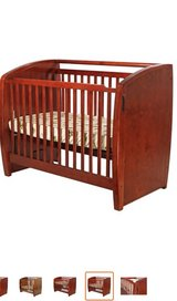 Dream On Me Electronic Wonder 3 in 1 Convertible Crib, Cherry in Palatine, Illinois