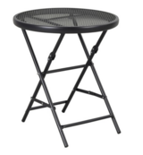 """18"""" Metal Mesh Folding Patio Accent Table - Threshold™ (NEW) in Ramstein, Germany"""