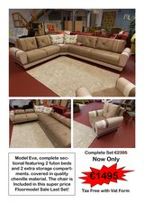 Eva Sectional Clearance Sale! in Spangdahlem, Germany