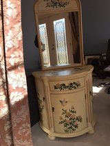 Decorative Cabinet w/ Matching Mirror. Lowered $ from $65 to $55 in Batavia, Illinois