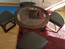 "40"" Round Contemporary Coffee Table in Spangdahlem, Germany"
