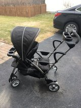Graco sit and stand stroller in Joliet, Illinois