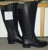 New!  Womens Shoes - Naturalizer Tall Boots - Genuine Leather Black in Glendale Heights, Illinois