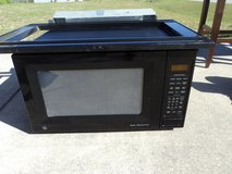 "GE 27"" Black Microwave with Sensor Heating in Camp Lejeune, North Carolina"