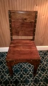 MODERN MEDIEVAL  STYLE OAK WOOD CHAIR in Keesler AFB, Mississippi