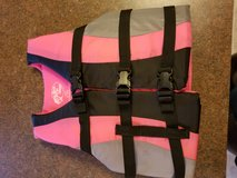 Girls life vest in Fort Leonard Wood, Missouri