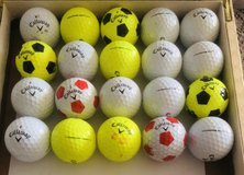20 Callaway Chrome Soft used golf balls near mint condition in Glendale Heights, Illinois