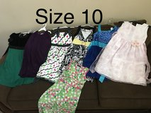 Girls size 10 & 10/12 dresses in Macon, Georgia