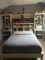 BEDROOM FURNITURE SET (FULL SIZE BED) FROM POTTERY BARN in Spring, Texas