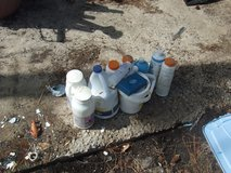A BuNCH OF POOL CHEMICALS in Camp Lejeune, North Carolina