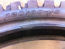 Dirt Bike Tire Dunlop 120/80-19 in Camp Pendleton, California