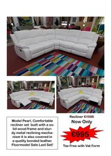 Pearl recliner sectional sale in Spangdahlem, Germany