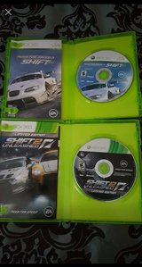 Xbox 360 NFS shift 1 & 2 in Fort Leonard Wood, Missouri