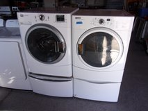 Maytag Front Load Washer and Dryer on Pedestals in Fort Riley, Kansas