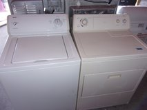 Kenmore Washer and Whirpool Dryer in Fort Riley, Kansas