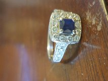 Sapphire and Diamond Ring in Pleasant View, Tennessee
