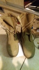 Coyote boots in Fort Knox, Kentucky
