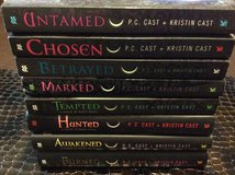 A House of Night 8 book lot in Warner Robins, Georgia