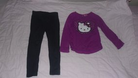 T5 hello kitty top and navy trousers in Lakenheath, UK