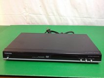 toshiba region 2, Japan, dvd player with remote and box; used in Okinawa, Japan