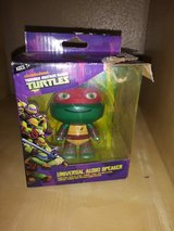 Ninja Turtle speaker/key chain in Houston, Texas