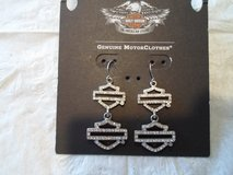 Harley Davidson Bar & Shield earrings in Warner Robins, Georgia