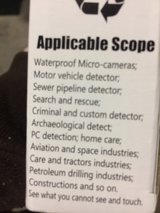 Spy cam for Android, brand new, endoscope Camera with lights in Warner Robins, Georgia