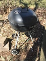 Weber kettle grill in Lockport, Illinois
