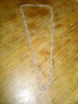 silver necklace in Yucca Valley, California