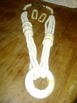 ivory necklace and ear rings in Yucca Valley, California