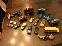 Reduced: Large Lot of Toy Cars, Tractors & Airplanes in Yorkville, Illinois