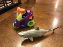 Imaginext Joker Car & Toy Shark in Yorkville, Illinois