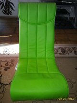 220v Video Rocker Gaming Chair with Speakers All Around in Ramstein, Germany