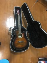 Brand New Guitar w/ Solid Guitar Case Included in Okinawa, Japan