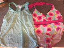 Girls swimsuit with cover shirt, 3 pieces in Ramstein, Germany