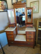 antique marble top vanity in Riverside, California