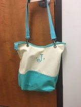 Thirty one tote with J initial in Fort Campbell, Kentucky