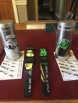 2 New Star Wars Watches in Star Wars Tins - 2005 Burger King in Naperville, Illinois