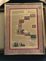 Alamo stamp collection in Kingwood, Texas