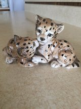 Leopard babies (ceramic ? Porcelain?) - really cute) in Fort Leonard Wood, Missouri