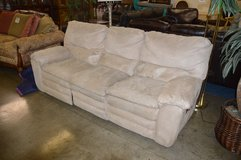 Microfiber  Dual Reclining Sofa in Tacoma, Washington