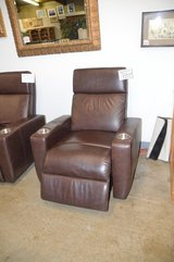 New Leather Power Recliner w usb port in Tacoma, Washington